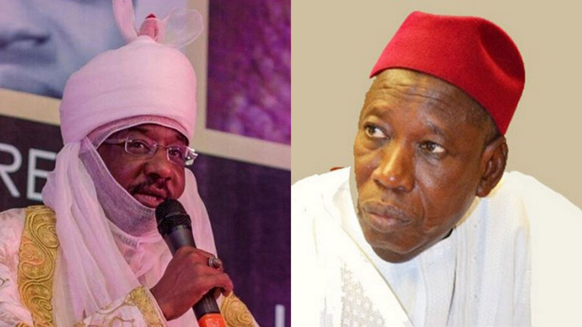 How Ganduje's 'fight' with Emir Sanusi alters Kano history