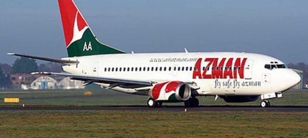 Azman airline flight