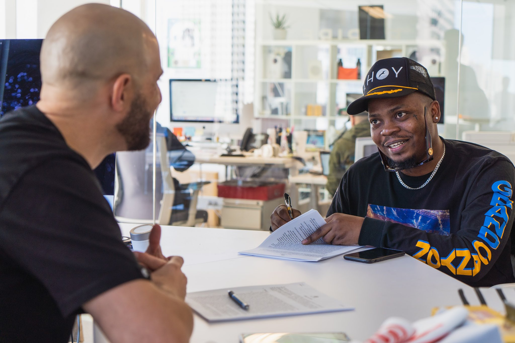 Olamide signs joint venture deal with U.S. music company