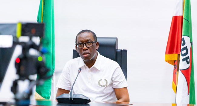 Okowa lauds INEC stance on e-transmission of election results