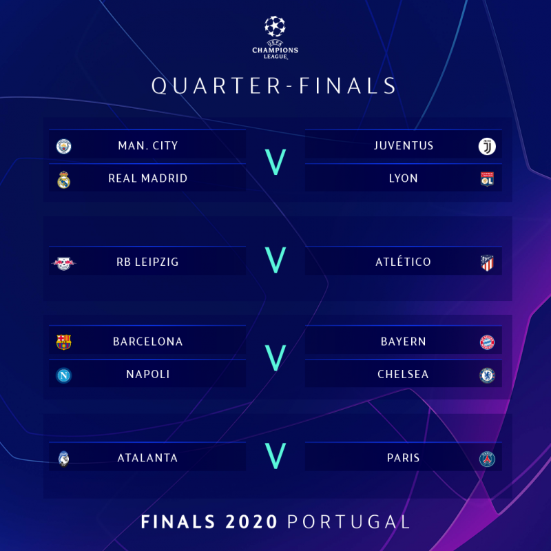 full list champions league quarter and semi final draws champions league quarter and semi final