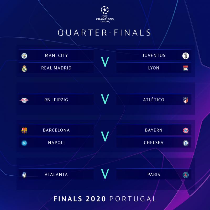 full list champions league quarter and semi final draws champions league quarter and semi final