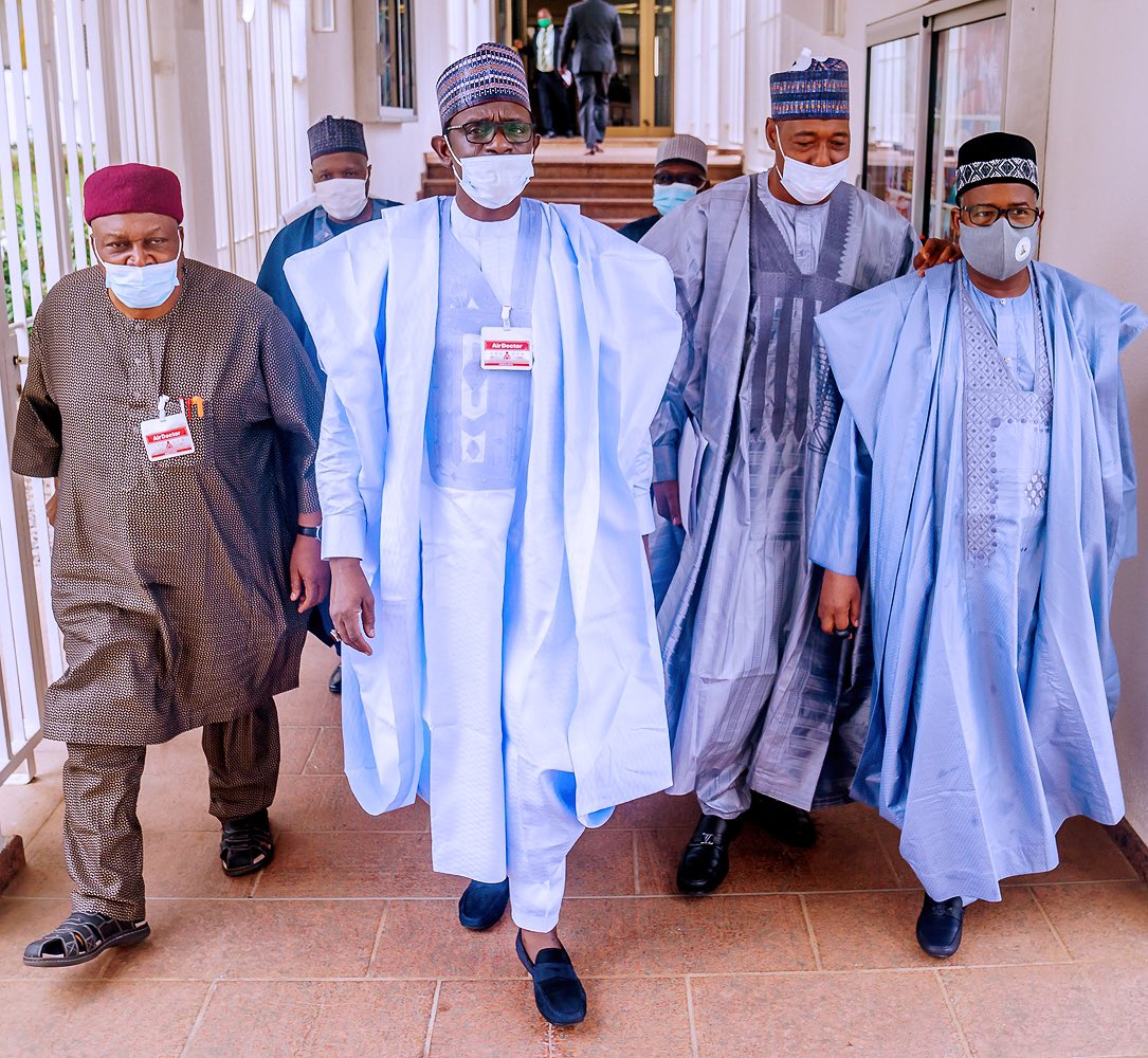 What North-East governors discussed with Buhari -- Zulum