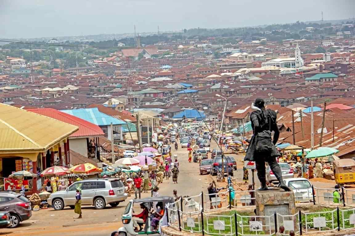 happenings 2020 01 ea9fa126 4913 4511 95d5 40d598f4b03c Ibadan with Oluyole statue  Nigeria.