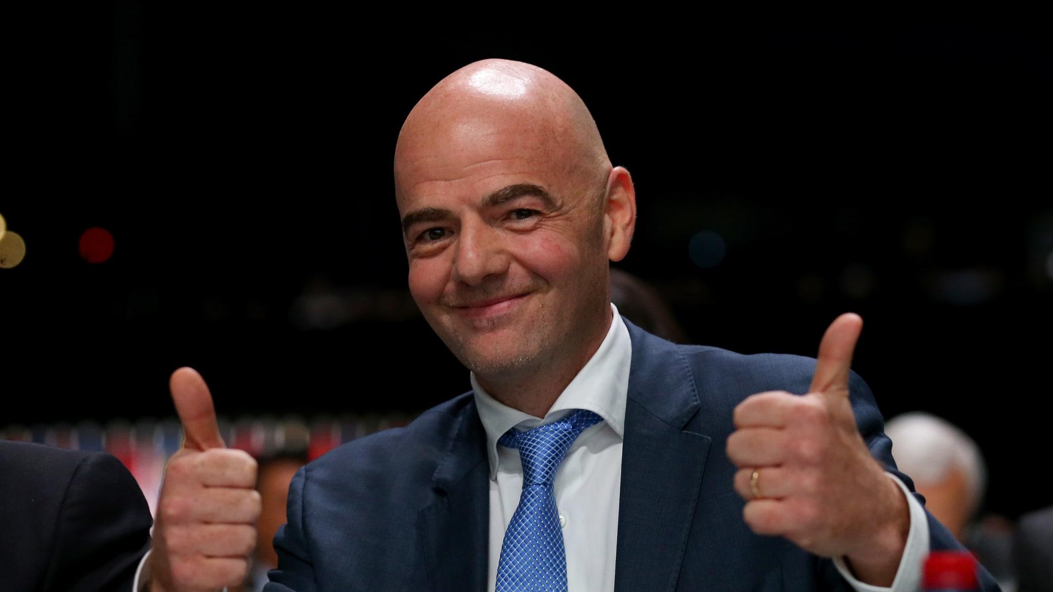 CAF Elections: FIFA President, Infantino, congratulates CAF on 'team spirit'
