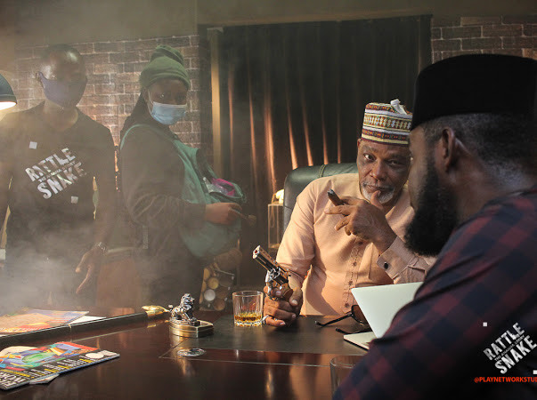 Why I agreed to direct remake of Amaka Igwe's classic 'Rattlesnake' –  Ramsey Nouah