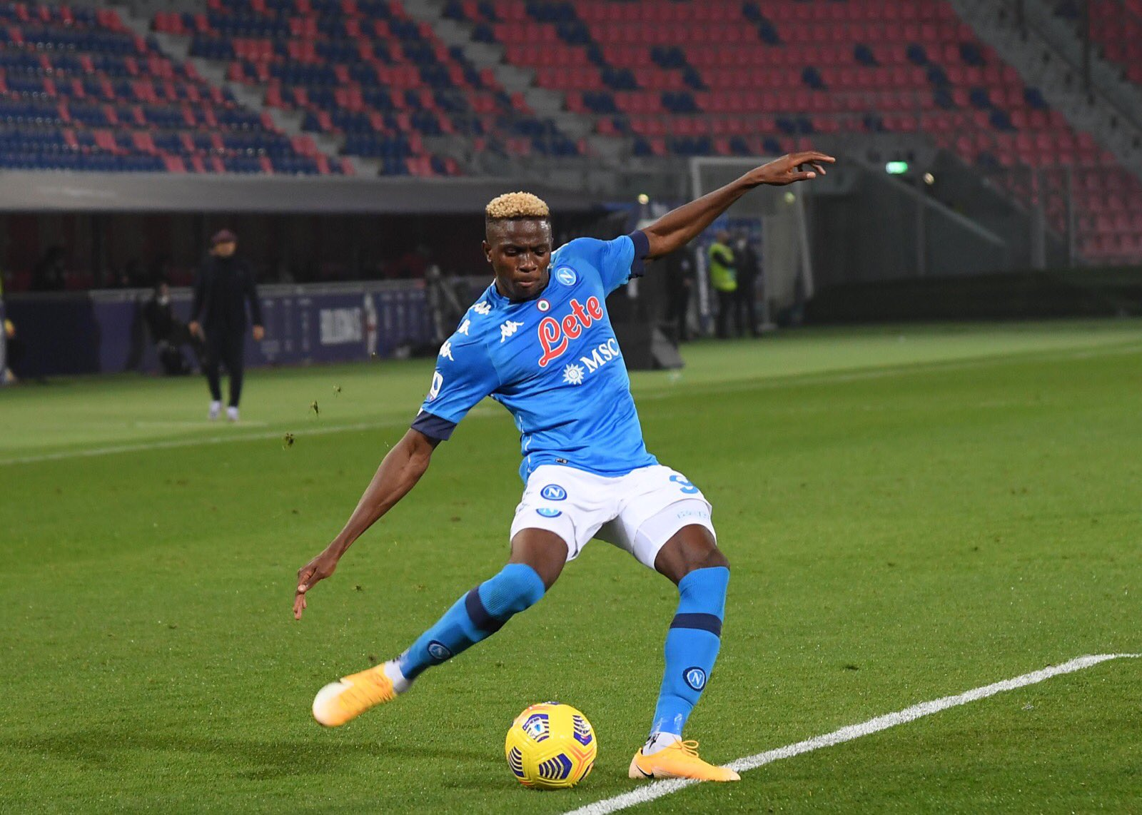 Osimhen returns to training after 79 days