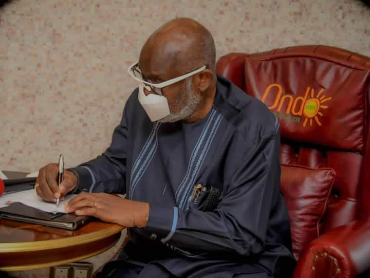 Akeredolu signs violence against persons prohibition bill into law