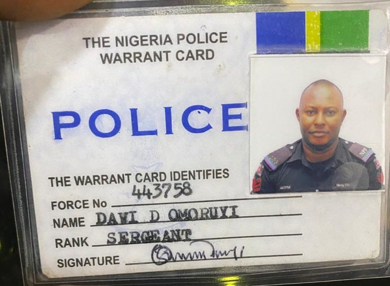 Man with fake police ID card arrested | Premium Times Nigeria