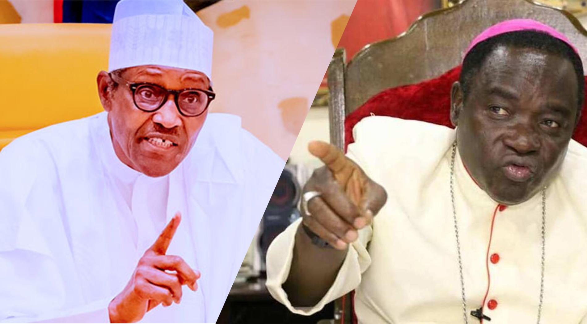 Inside the Bishop Kukah speech that angered Buhari