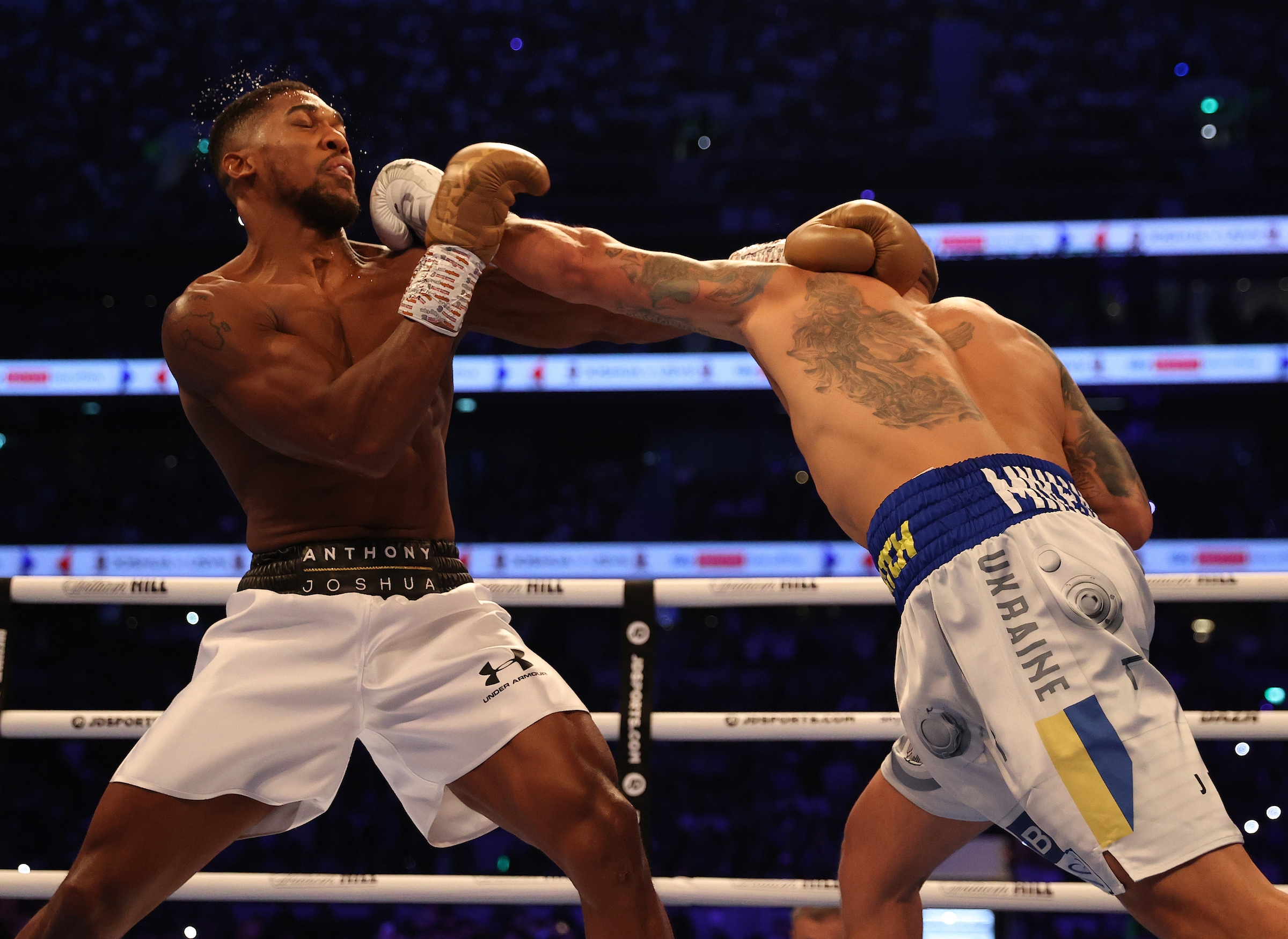 Anthony Joshua Set For Rematch Against Usyk