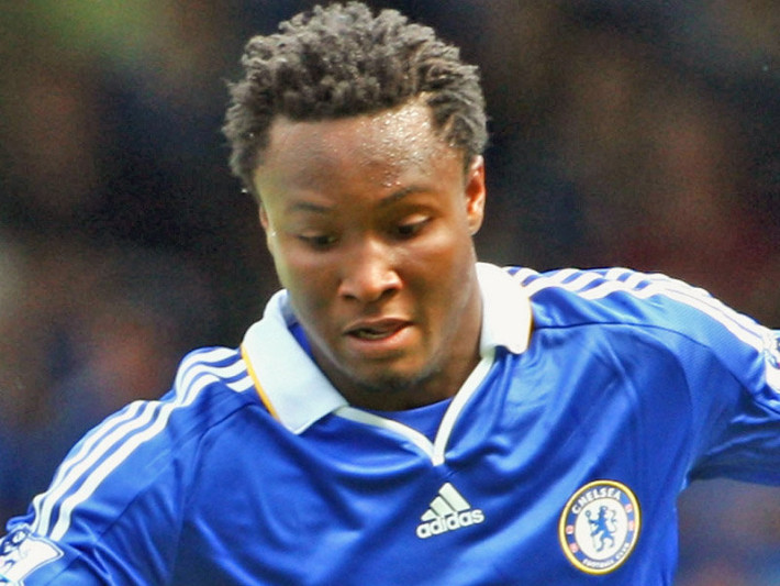 Nigerian midfielder John Mikel Obi