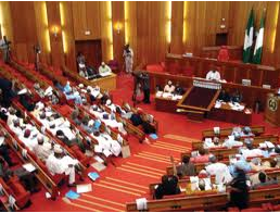 Nigeria's Senate Chamber, otherwise known as the Red Chamber