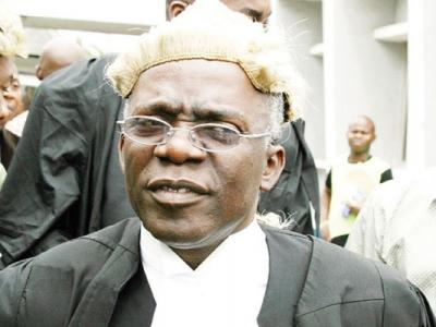 Falana slams Nigeria's senior lawyers, judges; accuses them of frustrating corruption trials