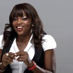 Yaw meets Funke Akindele at The Bar