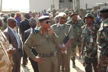 The JTF Field Commander, Victor Ebhaleme