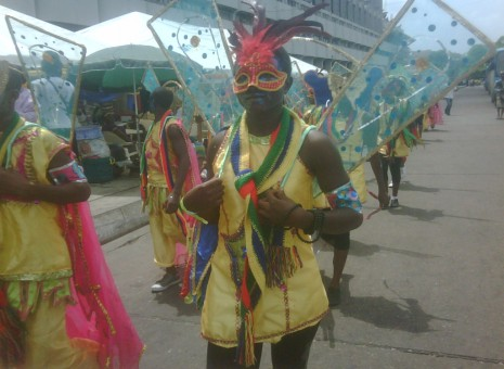 Lagos carnival showcases magnificent costumes, designs, acrobatics