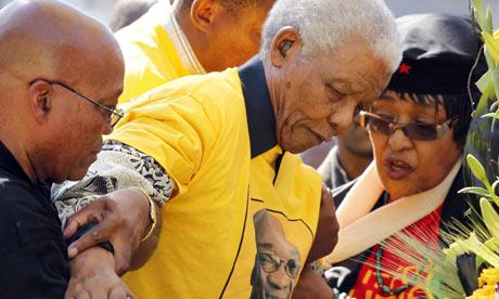 Former President Nelson Mandela