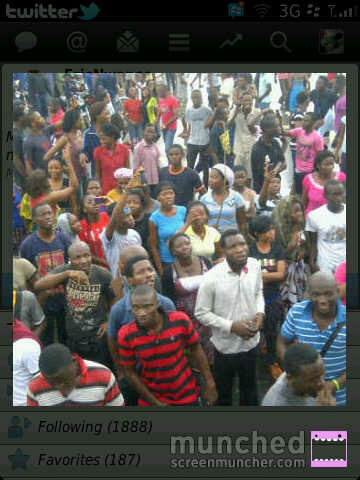 PHOTO Of The Day: Unilag Students Protesting Over The Change Of Name. 2