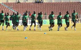 Zambia in training...