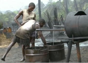 Illegal refineries are proliferating all over the Niger Delta