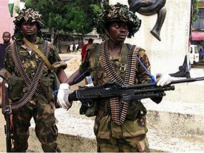 soldiers Maiduguri 804642000 399x300 - Boko Haram: Nigeria Military imposes 24-hour curfew on Yobe