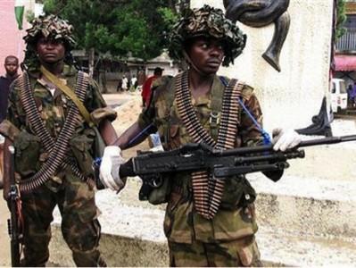 soldiers Maiduguri 804642000 399x300 - Boko Haram: Nigeria Military imposes 24-hour curfew on Yobe