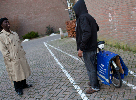 For Nigerian illegals in the Netherlands, it is a tough and risky life