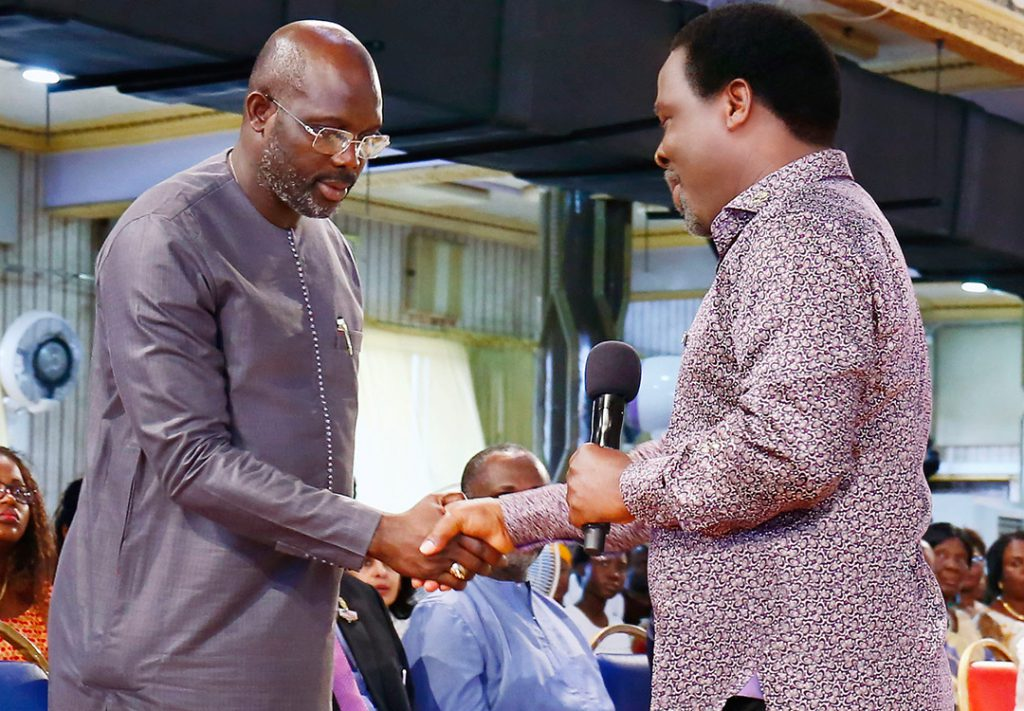 King George' Weah and the T B  Joshua Connection, By Tawia