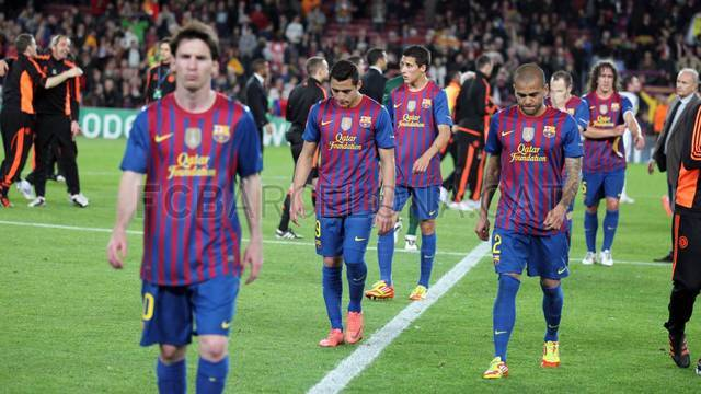 Barça bow out, but with their heads held high (2-2)